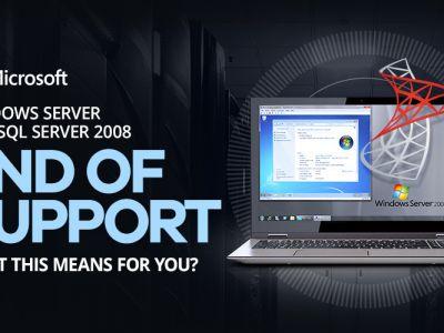 Fine del supporto per SQL 2008/R2 e Windows Server 2008/R2
